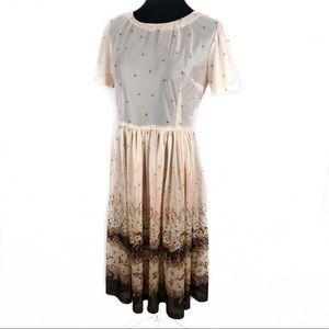 Floral vintage 60's house dress